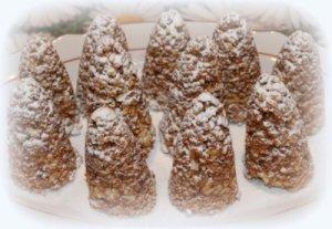 Новогоднее печенье «Шишки»