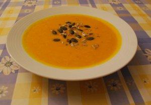Суп кюрбис из тыквы Хоккайдо
