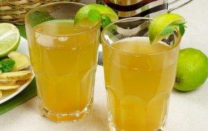Освежающий коктейль «Мед и имбирь»