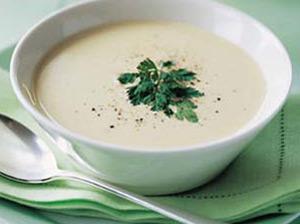 Белый суп