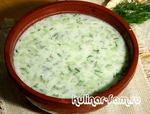 Диетические рецепты - суп из щавеля на простокваше