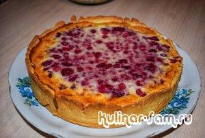Как приготовить малиновый сметанник – самый вкусный летний пирог