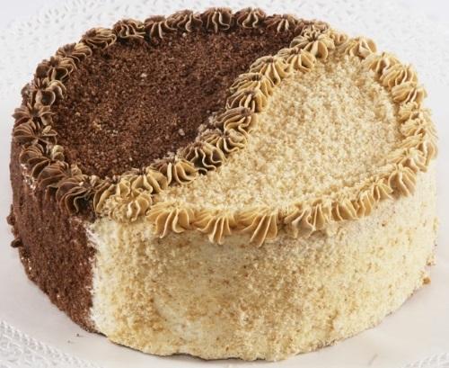 Торт день ночь рецепт с фото пошагово